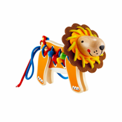 Lacing lion