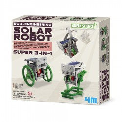 SUPER 3 IN 1 SOLAR ROBOT