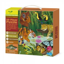 3D FLOOR PUZZLES RAINFOREST