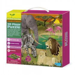 3D FLOOR PUZZLES SAFARI