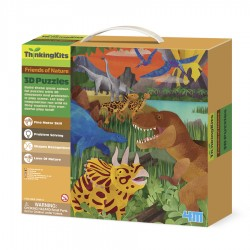 3D FLOOR PUZZLES DINOSAURS
