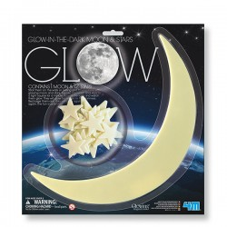 Glow Moon (Large) and Star CIENCIA 4M