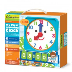 Tell Time Learning Clock CIENCIA 4M