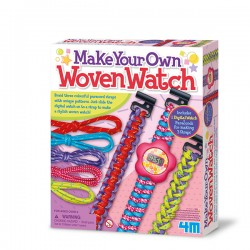 Make Your Own Woven Watch BISUTERIA 4M
