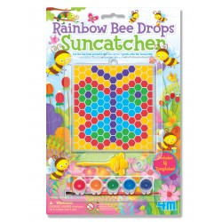 RAINBOW BEE DROPS SUNCATCHER