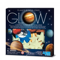 Super Nova 20pcs with Planets in Box CIENCIA 4M