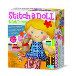 Stitch a doll in party
