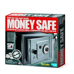 Alarm protective money bank