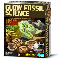 Glow fossil science