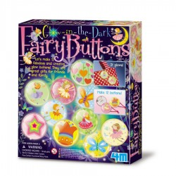 Glow fairy buttons