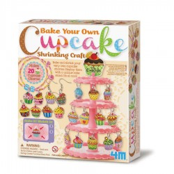 Shrink cupcake charms