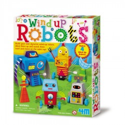 Wind up robots