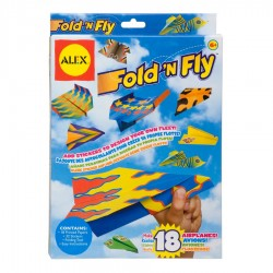 Fold n' fly paper airplanes