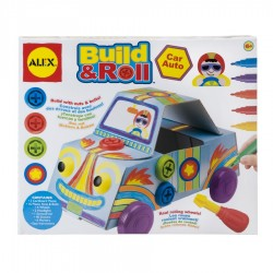 Build & roll car