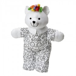 Color and cuddle washble bear