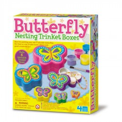 BUTTERFLY NESTING TRINKET BOXES