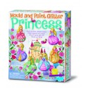 Mould and Paint Glitter Princess ARTE CON PINTURA 4M